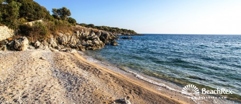 Croatia - Lika - Island Pag -  Borovici - Beach Dražica