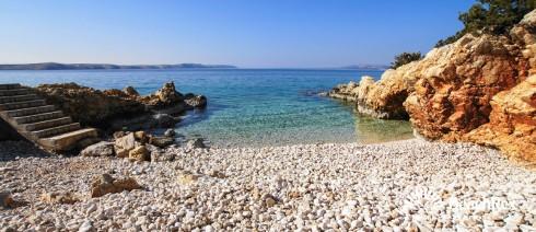 Croatia - Lika - Island Pag -  Stara Novalja - Beach Jadra