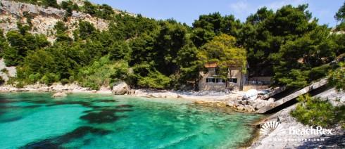 Croatia - Dalmatia  Split - Island Hvar -  Zarače - Beach Malo Zaraće