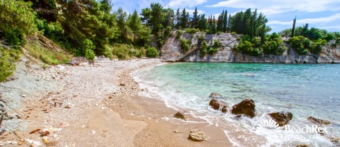Croatia - Dalmatia  Split - Island Hvar -  Hvar - Beach Podstine