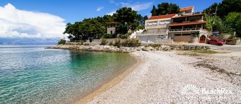 Hrvatska - Dalmacija  Split - Otok Šolta -  Stomorska - Plaža Pelegrin