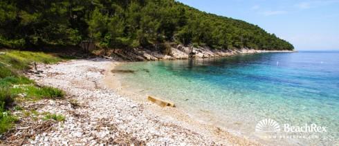 Croatia - Dalmatia  Split - Island Hvar -  Brusje - Beach Sviračina