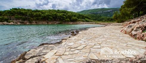 Croatia - Dalmatia  Split - Island Hvar -  Jelsa - Beach Mina