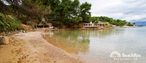 Croatia - Dalmatia  Split - Island Hvar -  Jelsa - Beach Grebišće