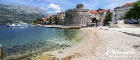 Hrvatska - Dalmacija  Dubrovnik - Otok Korčula -  Korčula - Plaža Spomenik