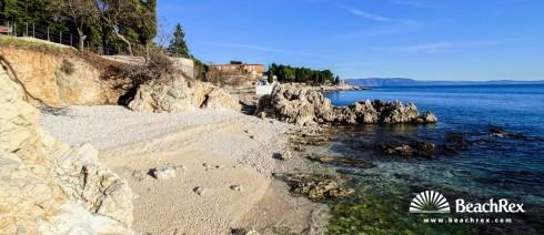 Croatia - Istra -  Rabac - Beach Maršal Tito