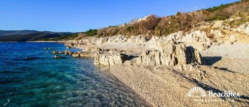 Croatia - Istra -  Rabac - Beach Sveti Andrea