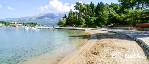 Hrvatska - Dalmacija  Dubrovnik - Otok Korčula -  Korčula - Plaža Luka Korčulanska
