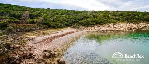 Croatia - Kvarner - Island Krk -  Risika - Beach Melska