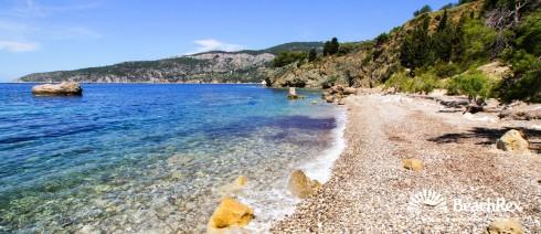 Croatia - Dalmatia  Split - Island Vis -  Komiža - Beach Novo Pošta