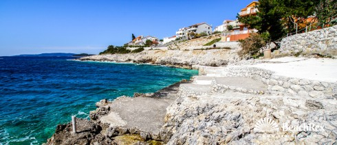 Croatia - Dalmatia  Split - Island Čiovo -  Okrug Gornji - Beach Rastića