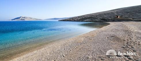 Croatia - Lika - Island Pag -  Metajna - Beach Ručica