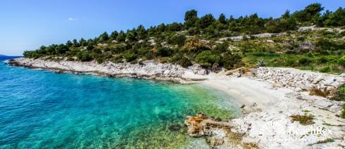 Croatia - Dalmatia  Split - Island Čiovo -  Okrug Gornji - Beach Tatinja