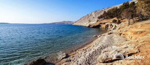 Croatia - Lika - Island Pag -  Metajna - Beach Sunčana Metajna