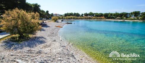 Croatia - Dalmatia  Split - Island Brač -  Supetar - Beach Banj