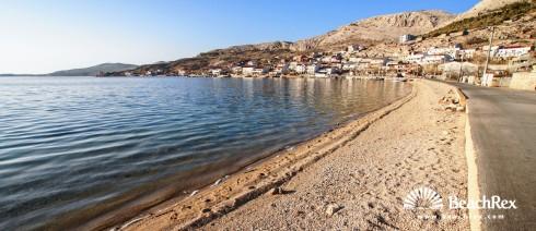Croatia - Lika - Island Pag -  Metajna - Beach Metajna