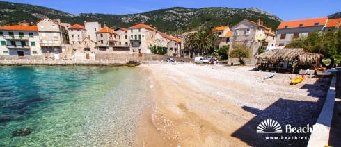 Croatia - Dalmatia  Split - Island Vis -  Komiža - Beach Lucica