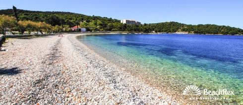 Croatia - Dalmatia  Split - Island Vis -  Vis - Beach Prilovo