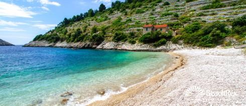 Croatia - Dalmatia  Dubrovnik - Island Korčula -  Žrnovo - Beach Pavja Luka