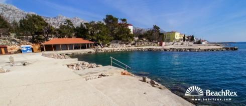 Croatia - Lika -  Karlobag - Beach Karlobag