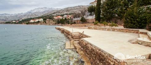 Croatia - Dalmatia  Zadar -  Starigrad Paklenica - Beach Plantaža