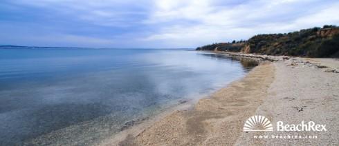 Croatia - Dalmatia  Zadar -  Rtina - Beach Rtina