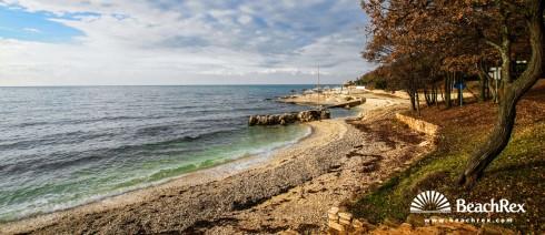 Croatia - Istra -  Funtana - Beach Bijela Uvala
