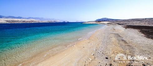 Croatia - Dalmatia  Zadar - Island Pag -  Kolan - Beach Prnjica