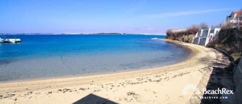 Croatia - Dalmatia  Zadar -  Privlaka - Beach marina Privlaka