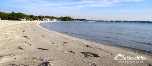 Croatia - Dalmatia  Zadar -  Zaton - Beach Zaton HR