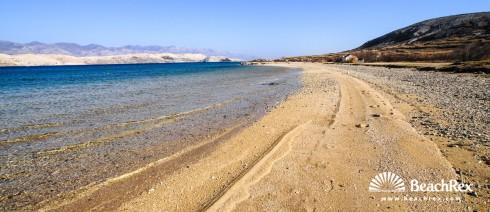 Croatia - Dalmatia  Zadar - Island Pag -  Kolan - Beach Sveti Duh