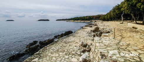 Croatia - Istra -  Funtana - Beach Frnažina