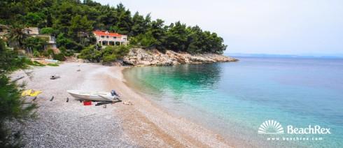 Croatia - Dalmatia  Split - Island Hvar -  Bogomolje - Beach Stara