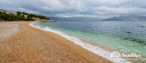 Croatia - Kvarner - Island Krk -  Baška - Beach Vreženica
