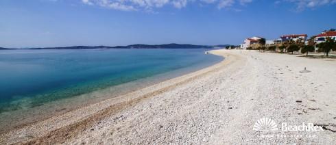 Kroatien - Dalmatien  Zadar -  Bibinje - Strand Punta Bibinje