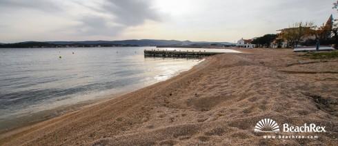 Croatia - Dalmatia  Zadar -  Turanj - Beach lučica Turanj