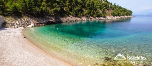 Croatia - Dalmatia  Split - Island Hvar -  Bogomolje - Beach Mala Pogorila