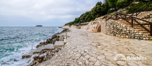 Croatia - Istra -  Vrsar - Beach Petalon
