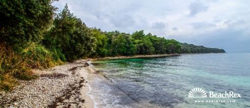 Croatia - Istra -  Rovinj - Beach Knez