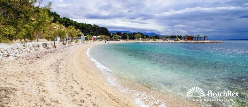 Croatia - Dalmatia  Split -  Split - Beach Ježinac