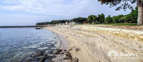 Croatia - Istra -  Rovinj - Beach Amarin