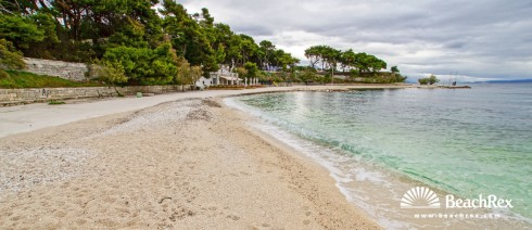 Croatia - Dalmatia  Split -  Split - Beach Ovčice
