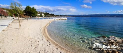 Croatia - Dalmatia  Split -  Dugi Rat - Beach Dugi Rat