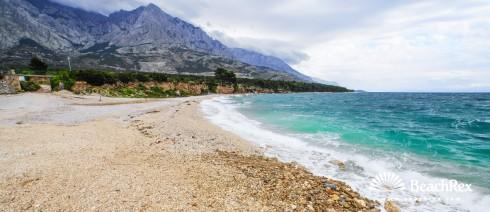 Croatia - Dalmatia  Split -  Baška Voda - Beach Oseka