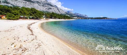 Croatia - Dalmatia  Split -  Makarska - Beach Buba