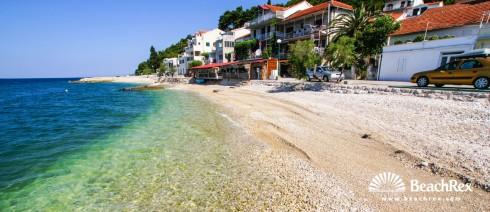 Croatia - Dalmatia  Split -  Zaostrog - Beach Mirela