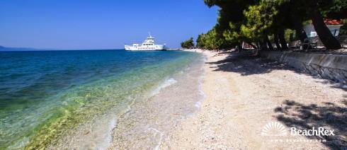 Croatia - Dalmatia  Split -  Zaostrog - Beach Zaostrog