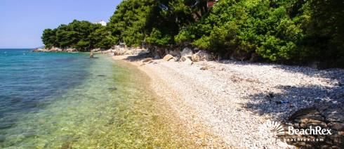 Croatia - Dalmatia  Split -  Podaca - Beach Borova