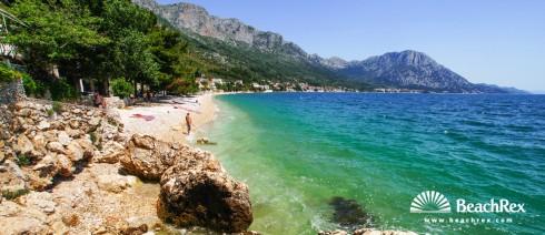 Croatia - Dalmatia  Split -  Podaca - Beach Ravanje