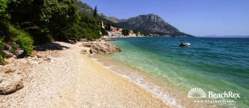 Croatia - Dalmatia  Split -  Brist - Beach Brist